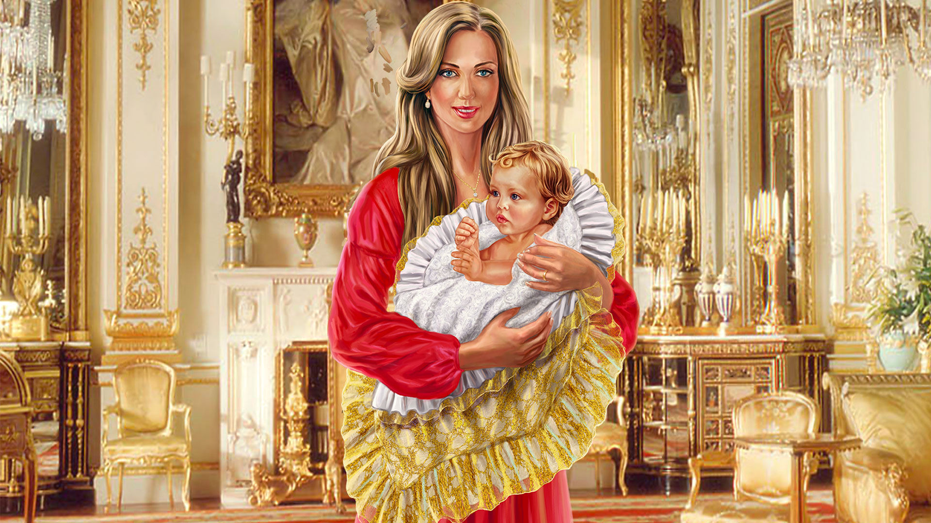 Royal Baby Blanket